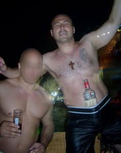 Goran Obradović Suša u jednom od noćnih izlazaka (Foto: Facebook)