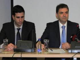 Blagota Radulović (levo) i Petar Ivanović sarađuju nekoliko godina, najpre u Agenciji Crne Gore za promociju stranih investicija, a potom i u Ministarstvu poljoprivrede. Obojica se dovode u vezu sa narko bosom Darkom Šarićem.  (Foto: MIDAS)