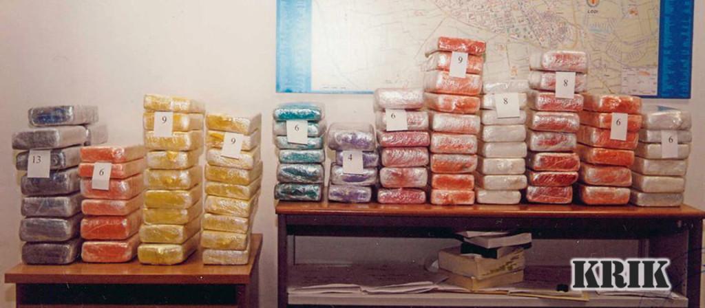 4A. zaplena 100kg kokaina kod Milana Puljarevica