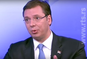 Aleksandar Vučić Gostovanje na RTS