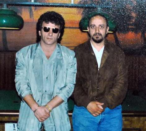 Čuveni kriminalac Boris Petkov i Dragoslav Kosmajac (foto Puls Asfalta)