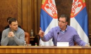 Sinisa Mali i Aleksandar Vucic