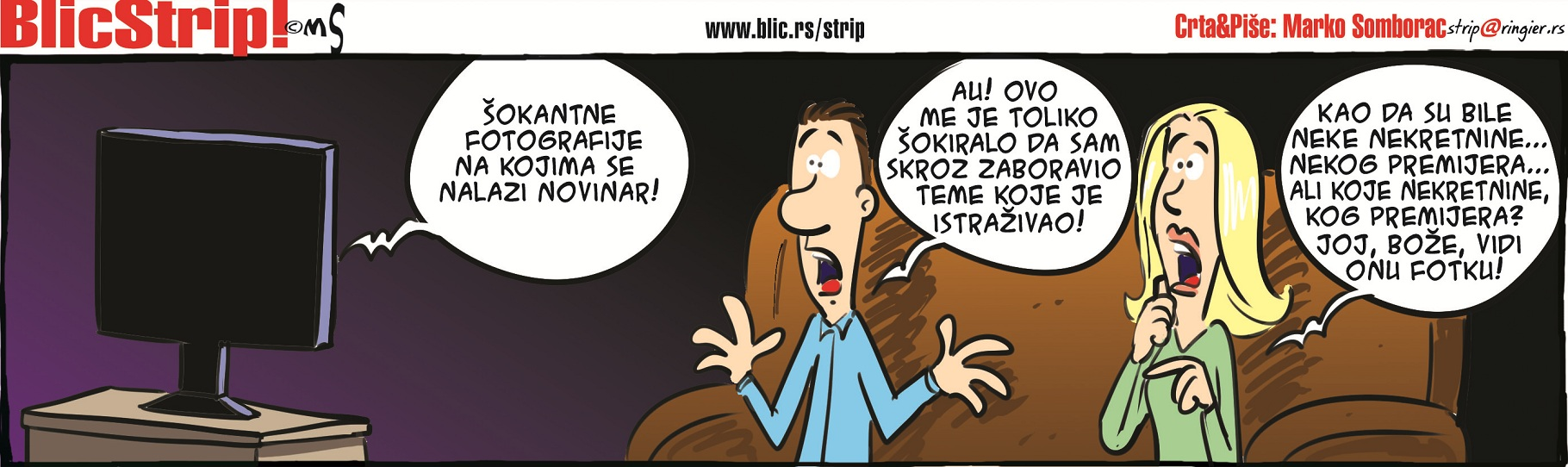 Blic Strip 21.03.2016