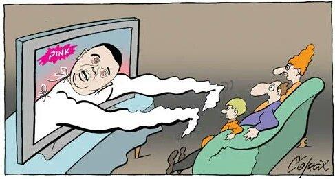 Corax karikatura D.J.Vučićević