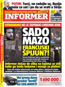 Informer naslovna 18.03.2016
