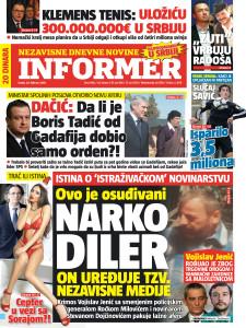 Naslovna Informera 24.02.2016