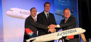 Air Serbia - Etihad