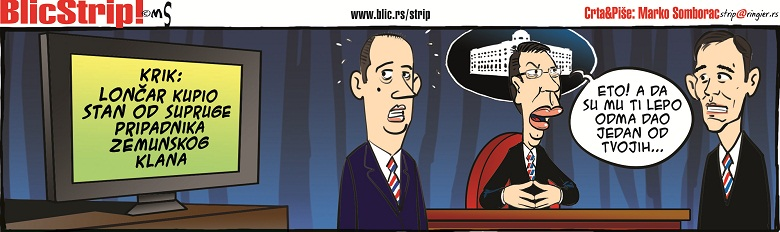 Blic strip 23.02.2016