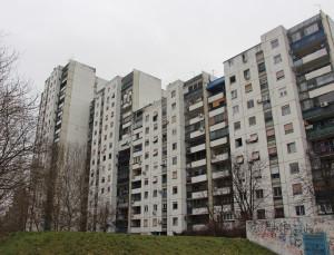 Zgrada na Novom Beogradu u kojoj se nalazi stan koji je Zlatibor Lončar kupio od zemunskog klana