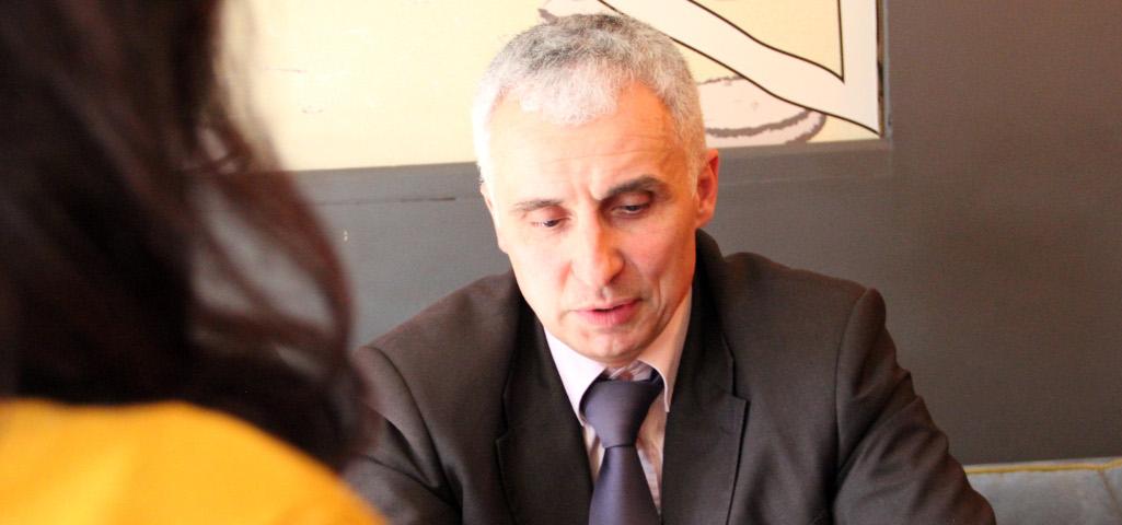 Vladimir Vučinić intervju KRIK foto S. Dojčinović