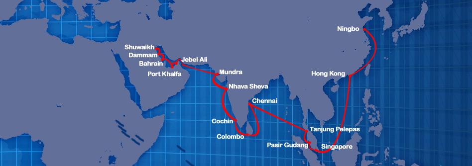 Panama Cargo Lines_ruta brodova
