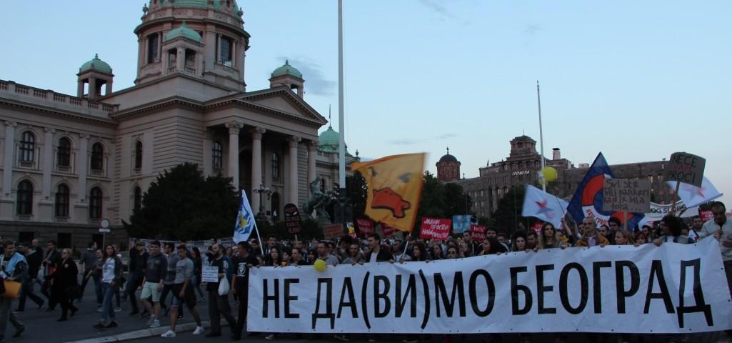Protest Ne da(vi)mo Beograd