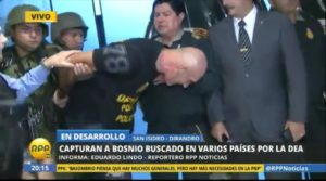 Zoran Jakšić hapšenje u Peruu_foto printskrin