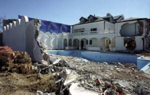 Rušenje kuće u Šilerovoj