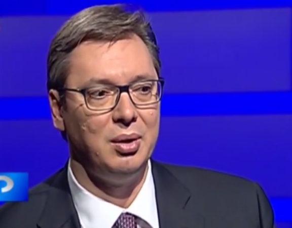 Aleksandar Vučić prt sc rts