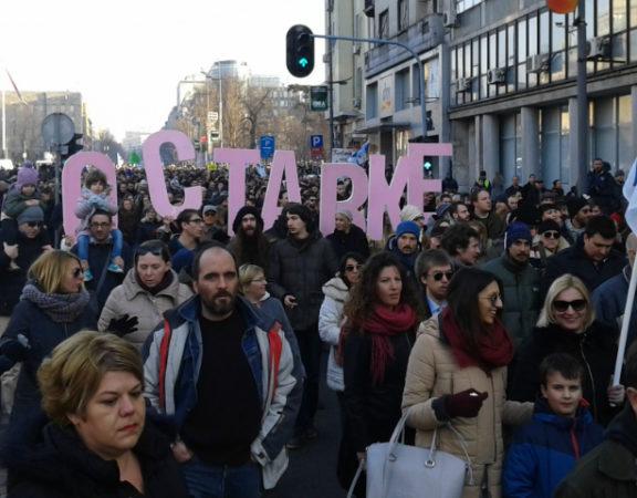 Protest foto KRIK