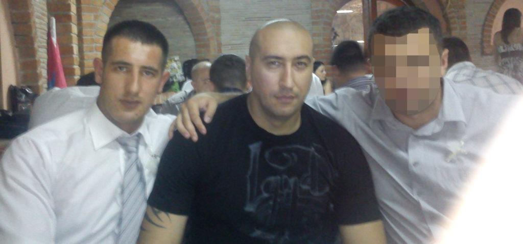 Аранитовић са припадником Жандармерије Ненадом Вучковићем Вучком (фото: фацебоок)